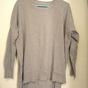 Alters state grey high low sweater